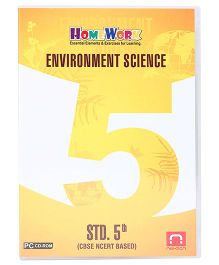 Homework CD-ROM Environment Science Std. 5th - CBSE NCERT Based