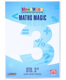 Homework CD-ROM Maths Magic Std 3rd - CBSE NCERT Based