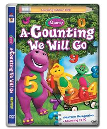 Hit Entertainment Barney A Counting We Will Go DVD - English