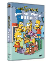 20th Century Fox Simpsons Around The World In 80 DOHS DVD - English