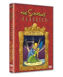 20th Century Fox DVD Simpsons Go To Hollywood - English