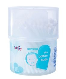 Tollyjoy Slim Cotton Swabs Canister - 200 Sticks