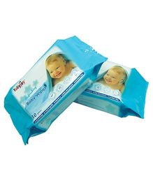 Tollyjoy Refreshing Wipes Twin Pack - 30 Sheets per Pack