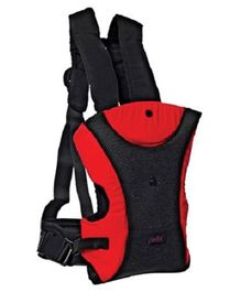 Tollyjoy 3 In 1 Baby Carrier - Red and Black