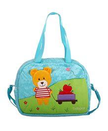 Tollyjoy Nursery Bag Bear - Blue