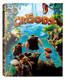 Dreamworks DVD The Croods - English