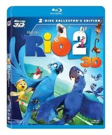 Dreamworks DVD Rio 2 3D - English