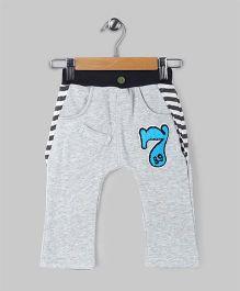 Baobaoshu Low Crotch Fleece Pants - Grey