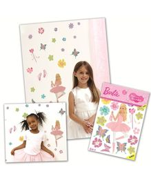 Fun To See Barbie Ballerina Stickers