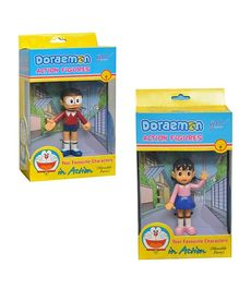 Grv Action Figurines Toy - Nobita And Shizuka