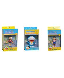Grv Action Figurines Toy 3 - Nobita Doraemon And Shizuka