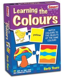 Smart Toy Puzzle Learning The Colors - 21 Sets of Two Pieces