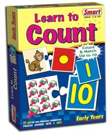 Smart Toy Puzzle Learn To Count - 42 Pieces