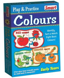 Smart Toy Puzzle Play And Practice Colors - 32 Pieces