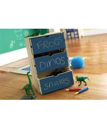 Wallies Chalkboard Collection - Chalkboard Blue 2 Panel Set
