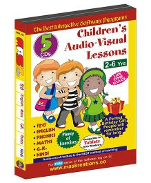 MAS Kreations Childrens Audio Visual Lessons - Pack of 5