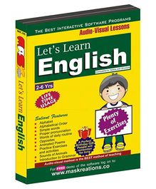 MAS Kreations Lets Learn English - English