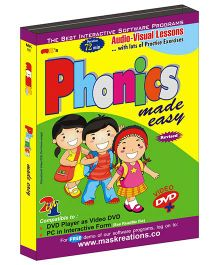 MAS Kreations Phonics Made Easy - English