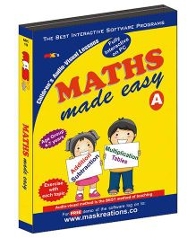 MAS Kreations Maths Made Easy-A - English
