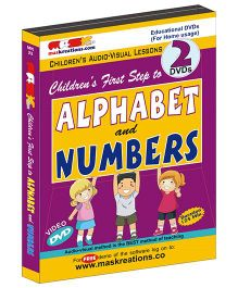 MAS Kreations First Step to Alphabet and Numbers - English