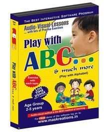 MAS Kreations Play With ABC - English