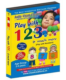 MAS Kreations Play with 123 Maths - English