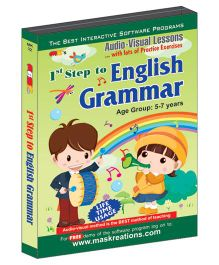 MAS Kreations 1st Step to English Grammar - English