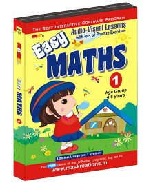 MAS Kreations Easy Maths-1 - English