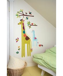 Wallies Wall Play Collection - Giraffe Growth Chart