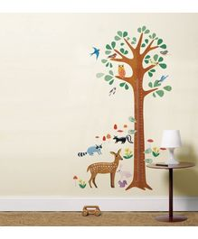Wallies Wall Play Collection - Woodland Growth Chart