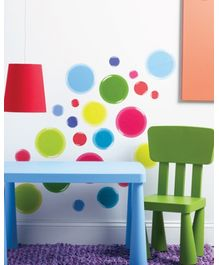 Wallies Wall Art Peel & Stick Appliques - 3D Dots