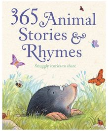 Parragon Book 365 Animal Stories And Rhymes - English