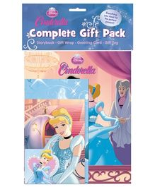 Parragon Book Disney Princes Cinderella Complete Gift Pack - English