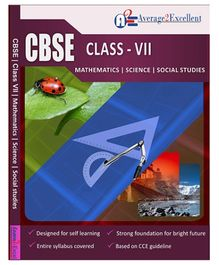 Average2Excellent CD CBSE Class - VII Combo Pack