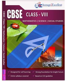 Average2Excellent CD CBSE Class - VIII Combo Pack
