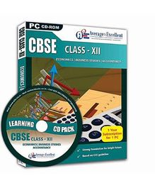 Average2Excellent CD Class XII Combo Pack - CBSE Board