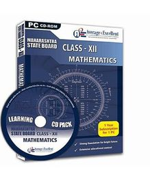 Average2Excellent CD Class XII Mathematics - Maharashtra State Board