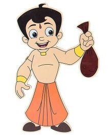 Prasima Toys Chhota Bheem Wooden Cut-outs - Swag