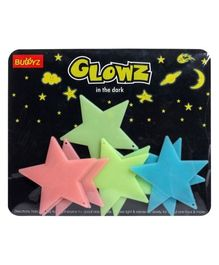 Buddyz Glowz Big Stars - 8 Pieces