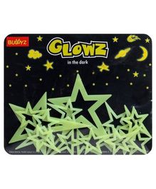 Buddyz Glowz Pole Stars - 10 Pieces
