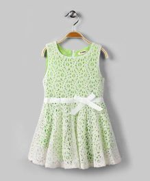 Android Green Lace Dress