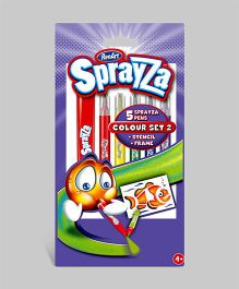 Sprayza Color Set 2