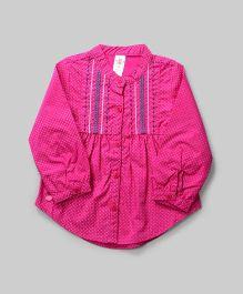 Pink Polka Dots Tunic