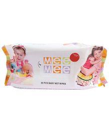 Mee Mee Baby Wet Wipes 80 Pieces