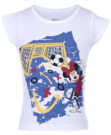 Minnie Mouse Half Sleeves Top