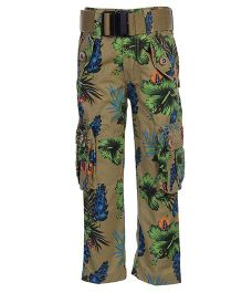 Noddy Original Clothing Pant With Belt - Printed
