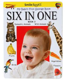 Smile Books Six In One Book 2 - English