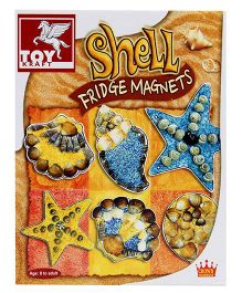 Toy Kraft Shell Fridge Magnets