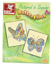 Toy Kraft  Pictured In Sequins - Butter Flie