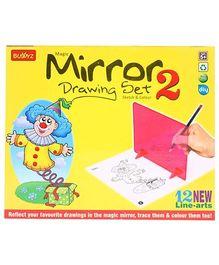 Buddyz Magic Mirror Drawing Set 2